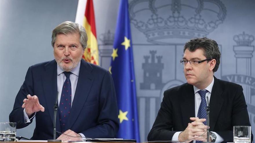 Íñigo Méndez de Vigo y Álvaro Nadal, en una imagen de archivo.