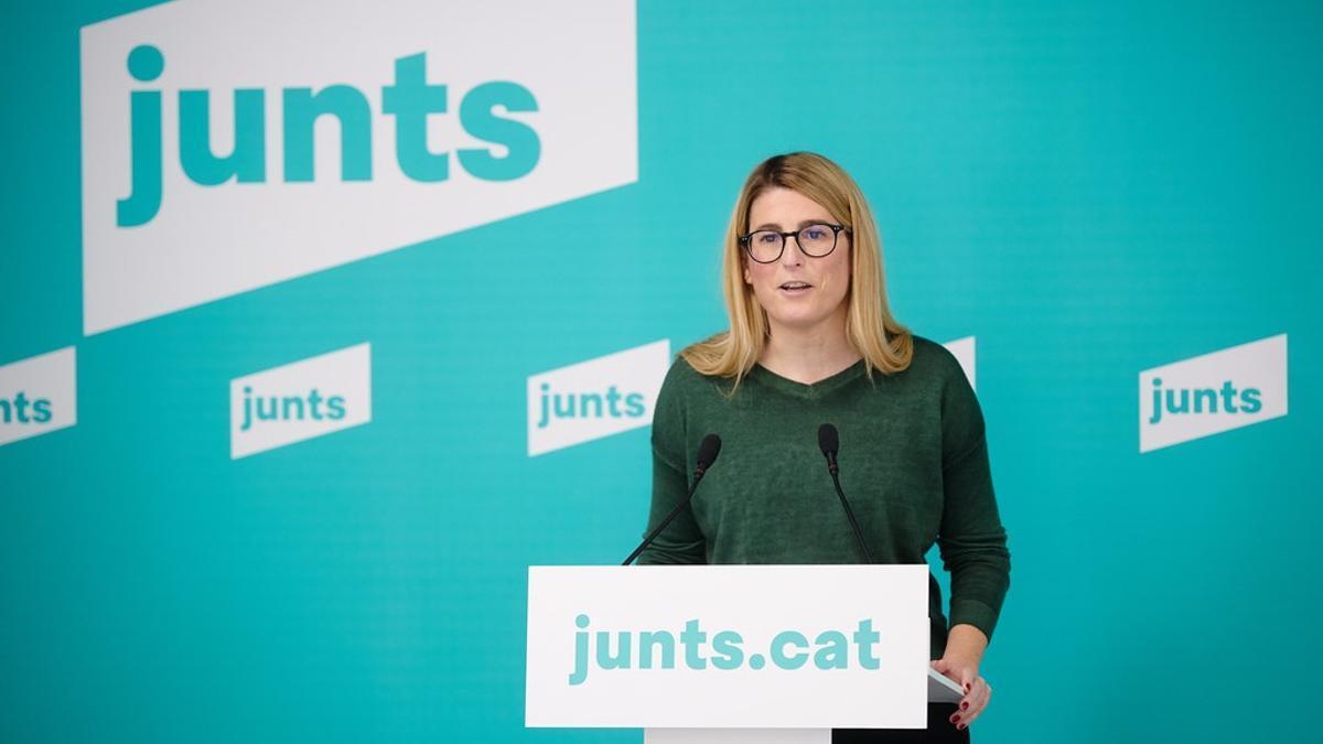 La vicepresidenta de Junts, Elsa Artadi, en una foto de archivo