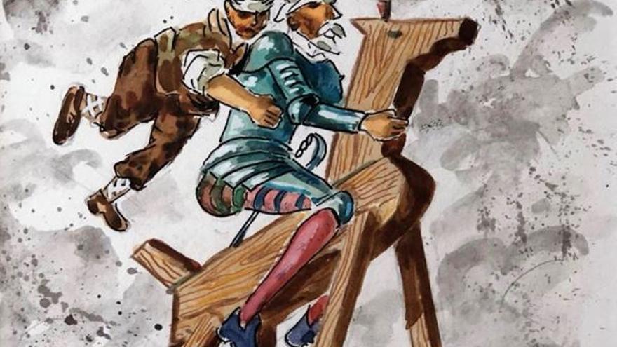Obra del Quijote de Samper