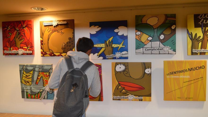 Exposición Lo sentimos mucho en el Espacio Joven de Santander