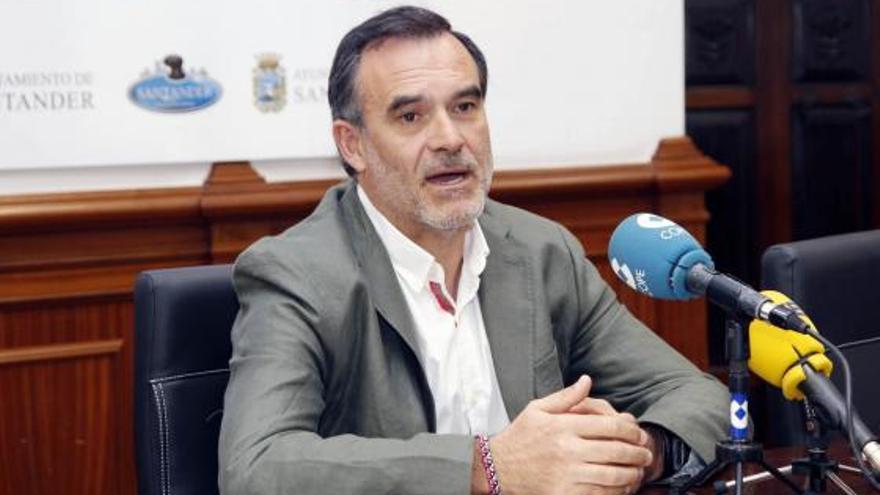 El concejal de Medio Ambiente y Movilidad Sostenible del Ayto. de Santander, José Ignacio Quirós