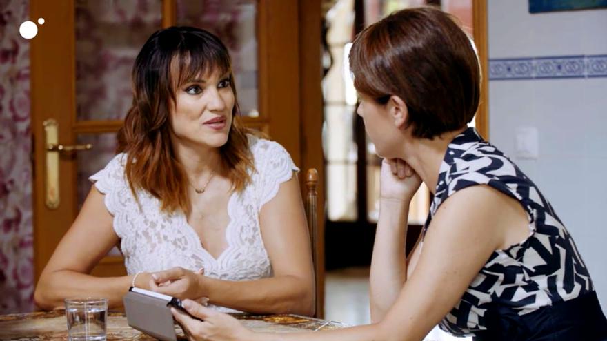 Irene Villa junto a Samanta Villar en Cuatro