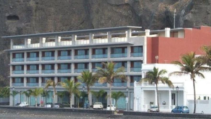 En la imagen, edificio de Los Tarajales.
