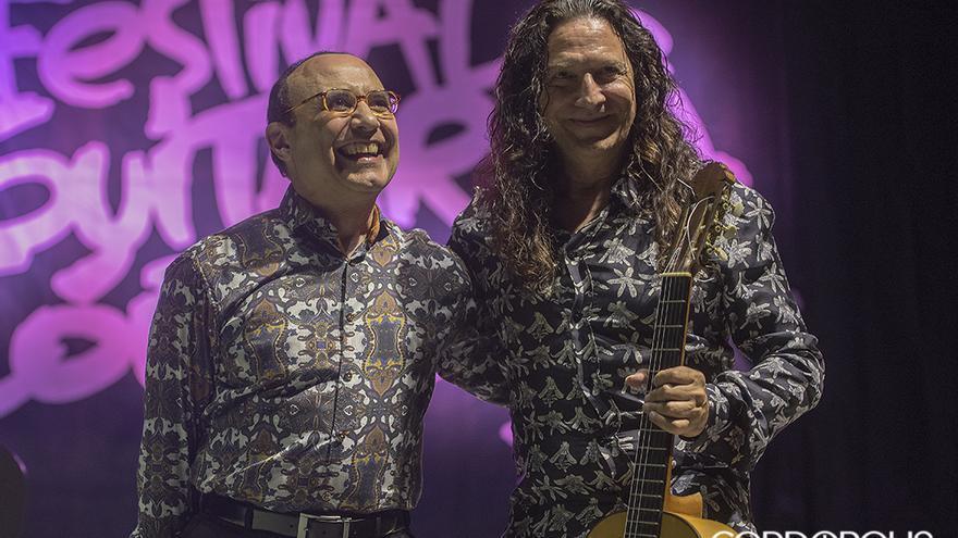 Camilo y Tomatito, en concierto | TONI BLANCO