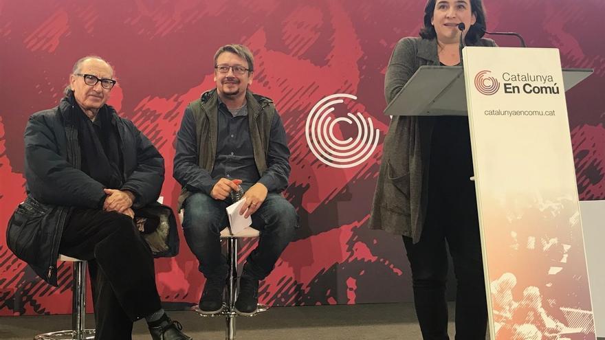"""Domènech (CatComú) quiere ganar para decirle a Rajoy que """"no es el presidente Cataluña"""""""