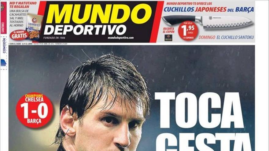 De las portadas del día (19/04/2012) #14