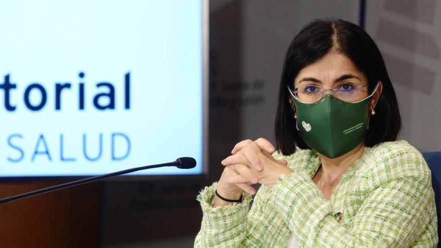 Darias anuncia que mañana llega más de un millón de vacunas de AstraZeneca