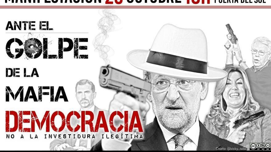La Delegación del Gobierno permite la manifestación de la Coordinadora 25S el sábado durante la investidura de Rajoy