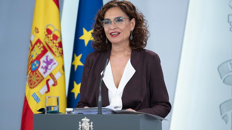 La ministra de Hacienda y portavoz del Gobierno, María Jesús Montero.