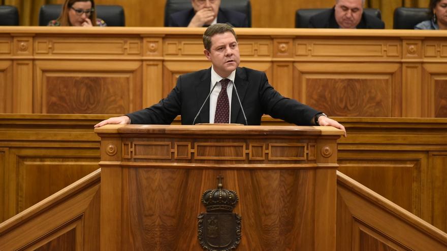 Emiliano García-Page, hoy en las Cortes Regionales