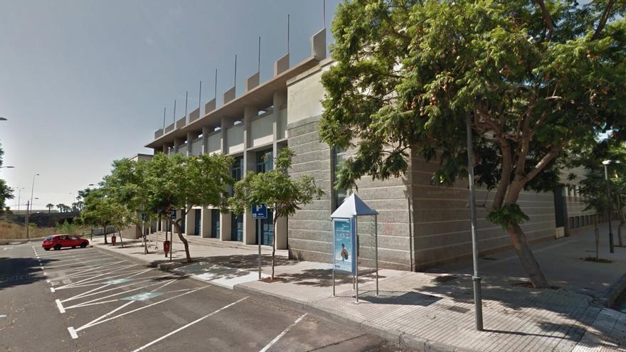 Pabellón de deportes Pancho Camurria en Santa Cruz de Tenerife