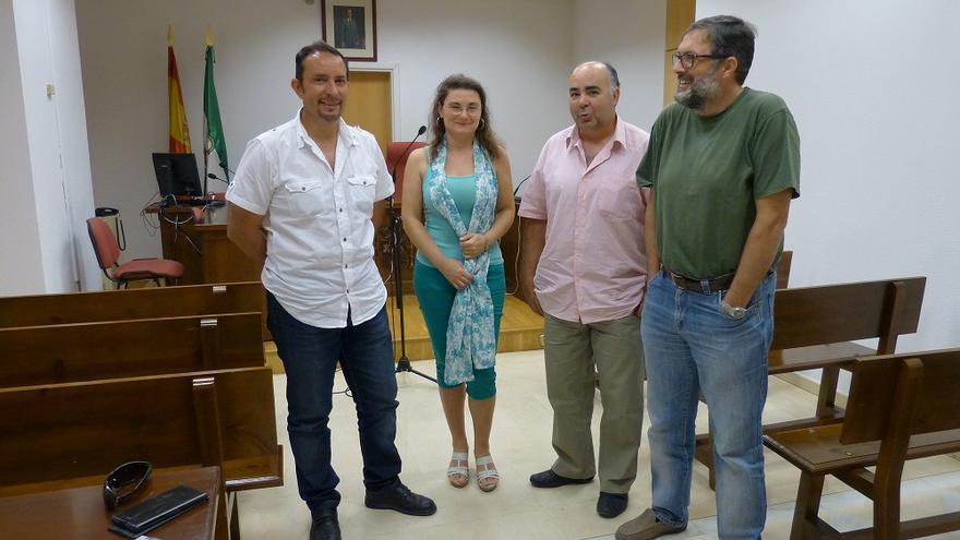 Funcionarios de Justicia de Granada