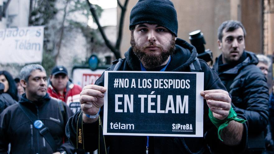 Nicolás Avelluto, fotógrafo y militante.