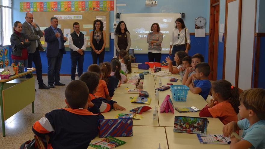 Acto celebrado este lunes en el colegio Tagoja de Mirca.