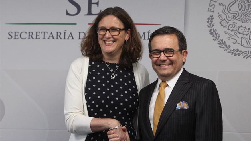 """México y UE logran """"avances sustantivos"""" en temas políticos de Acuerdo Global"""