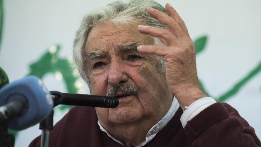 Mujica, durante un momento de su intervención. | JAVO DÍAZ