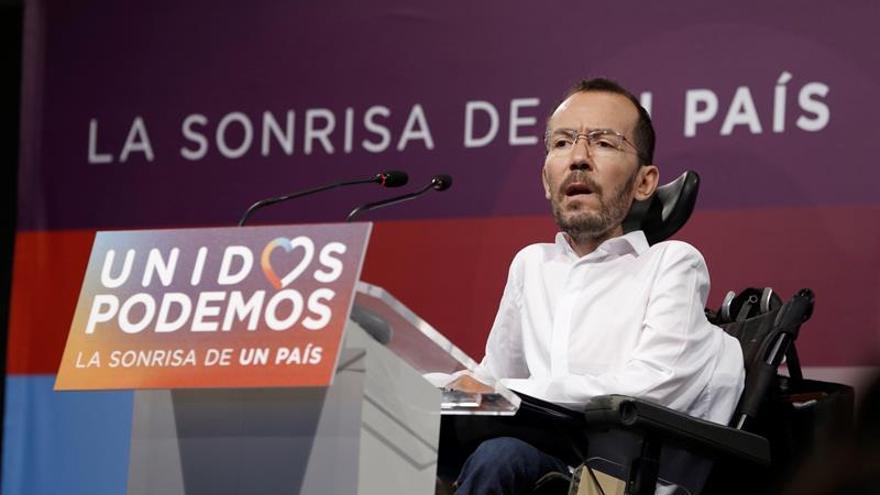"""Echenique niega las purgas en Podemos aunque rechaza los """"cortijos"""""""