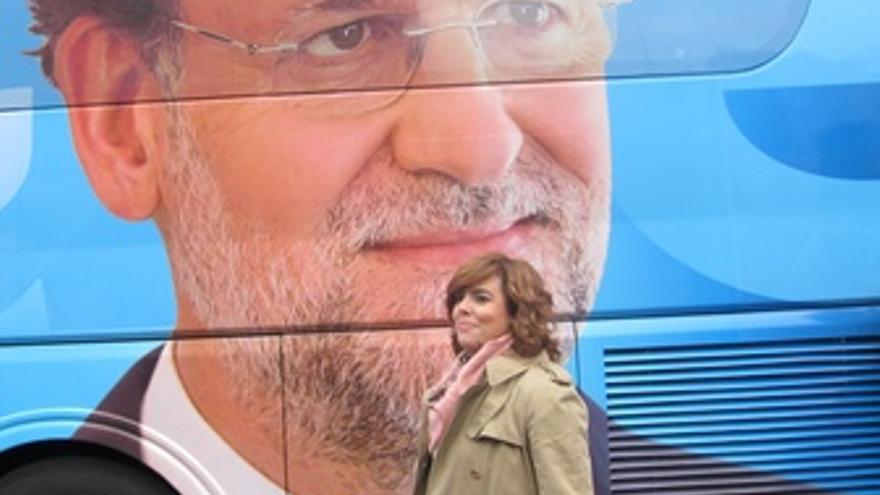 Soraya Sáenz De Santamaría Frente Al Ppbus
