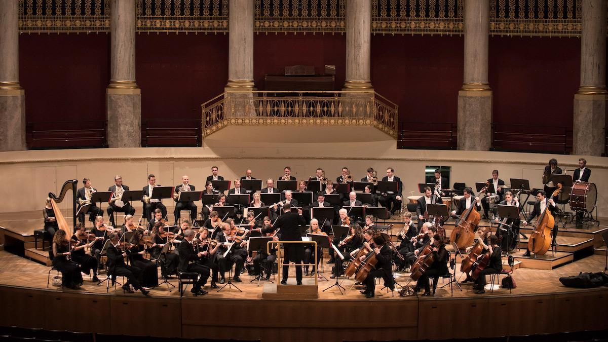 La Orquesta de Viena.