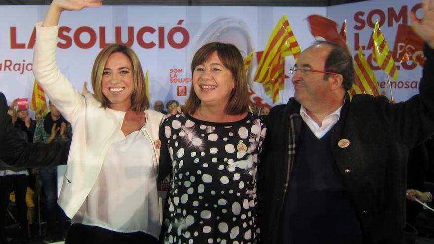 """Carme Chacón dice que Cataluña """"merece sentirse cómoda y bien financiada"""""""