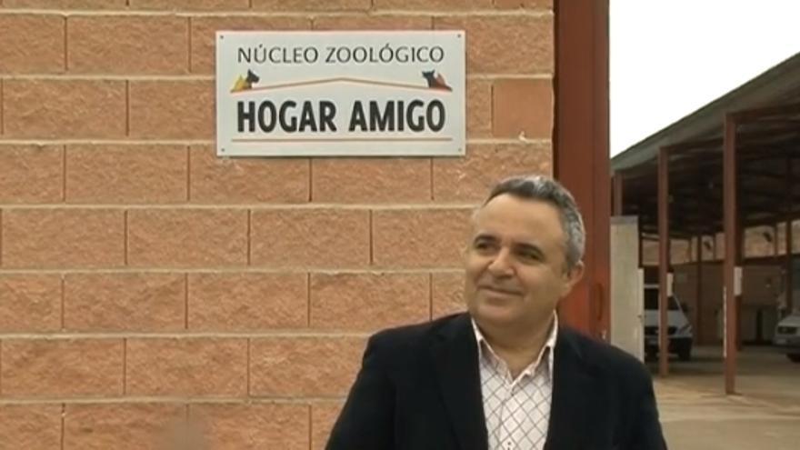 Santiago Casas en la inauguración del Hogar Amigo de Azuqueca