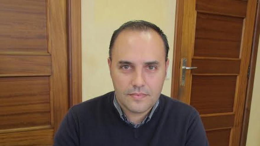 Luis Javier Camacho, consejero de Hacienda y Recursos Humanos de Cabildo de La Palma