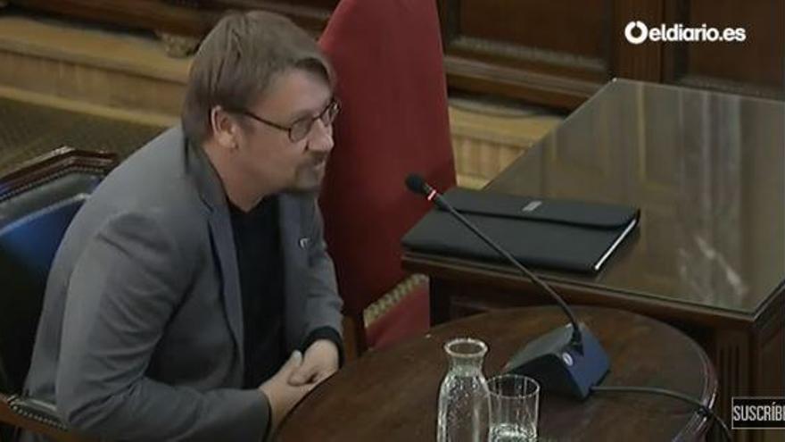 Xavier Domènech, exdiputado de Catalunya en Comú