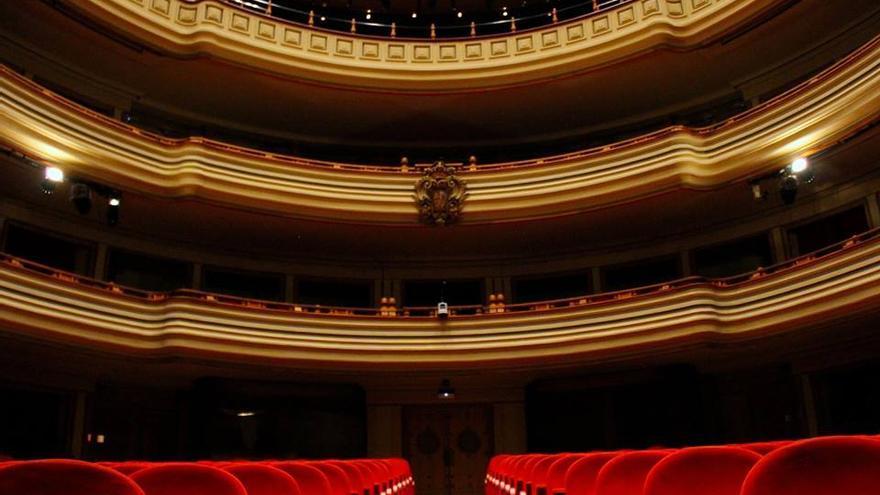 Sala principal del Teatro Pérez Galdós, en Las Palmas de Gran Canaria.