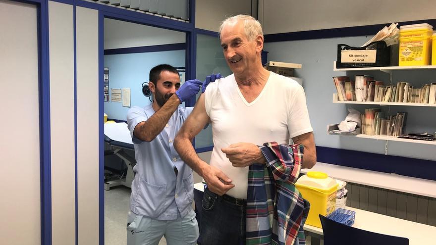 Un total de 311.766 personas, el 80% mayores de 65 años, se han vacunado de la gripe en Euskadi desde el 14 de octubre