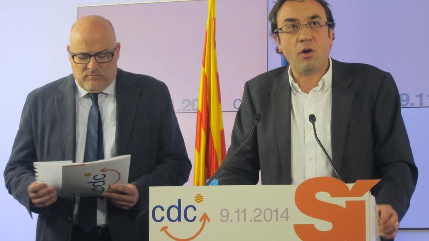 """CDC compara la situación de Euskadi y Cataluña, porque """"se sale a la calle para pedir derechos humanos y democracia"""""""