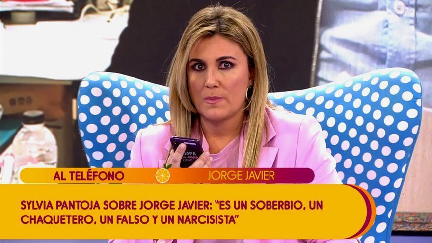 Carlota Corredera, sorprendida por la reacción de Jorge Javier