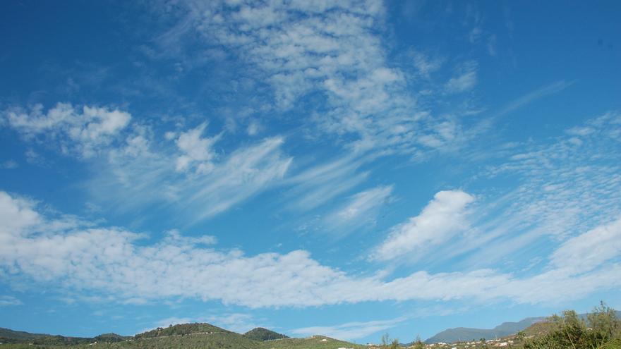 Temperaturas en descenso generalizado este jueves en La Palma