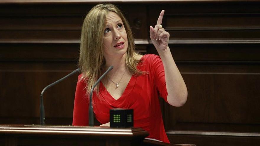 La consejera de Economía del Gobierno de Canarias, Rosa Dávila.