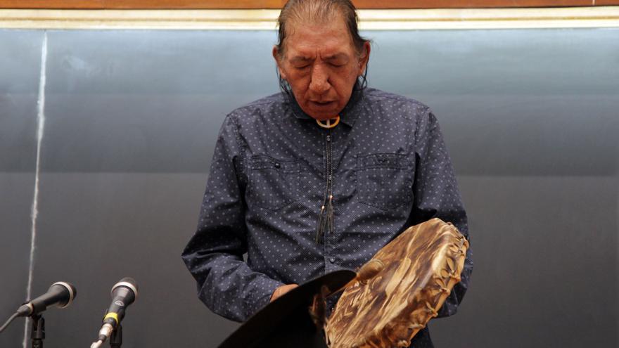 Lee Plenty Wolf, activista Sioux