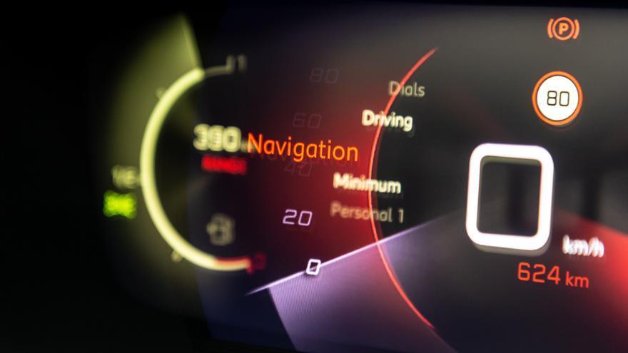 El Peugeot 2008 presenta una instrumentación 3D con indicaciones animadas.