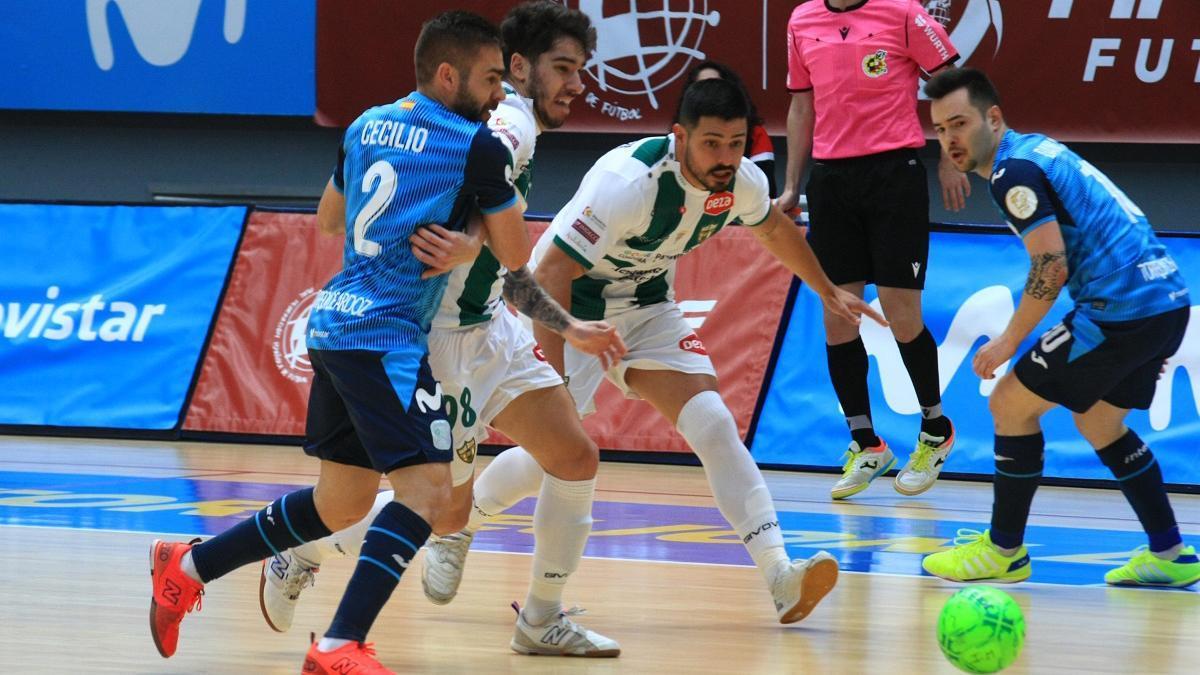Jesús Rodríguez, en el duelo con el Movistar Inter.