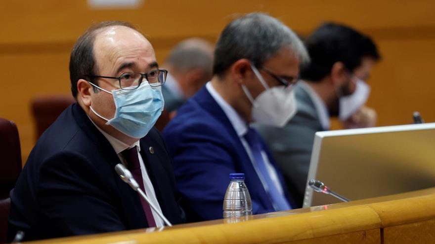 Iceta avisa al PP que sin la alarma solo los jueces podrán limitar libertades