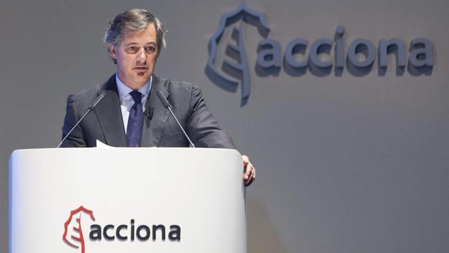 Acciona gana 49 millones de euros en el primer trimestre, un 17,4 % más