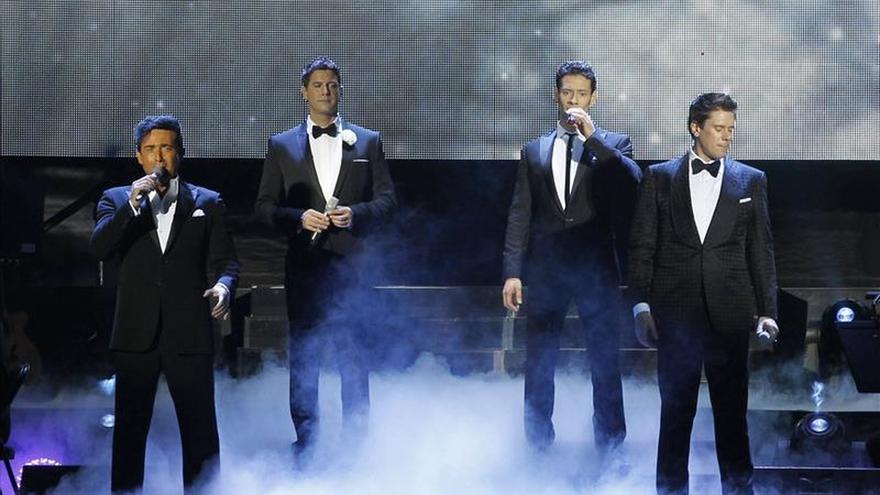 Il Divo actuará en Barcelona, Madrid, Bilbao y A Coruña en junio