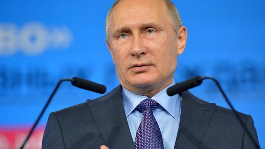 Putin inaugura un monumento del Príncipe Vladímir que cristianizó Rusia en 988
