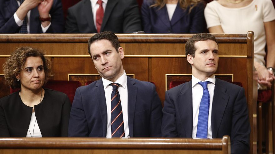 """PP cree que """"está en duda"""" que el PSOE diga que es un partido que """"promueve el cumplimiento de la legalidad"""""""