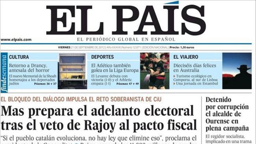 De las portadas del día (21/09/2012) #7