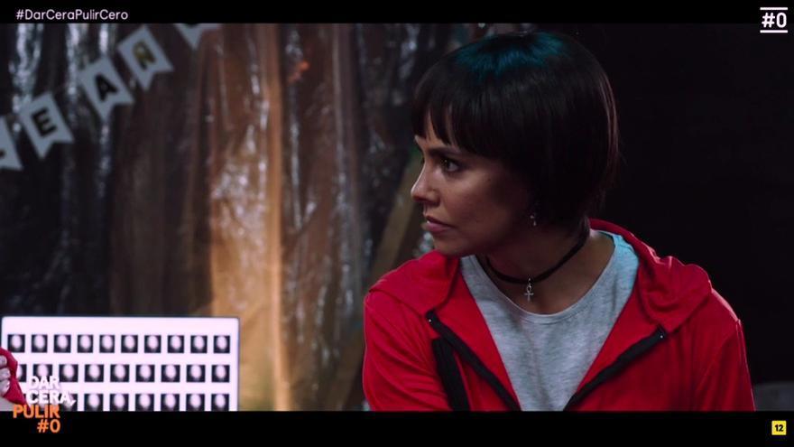 Cristina Pedroche protagoniza el sketch de 'La casa de papel'