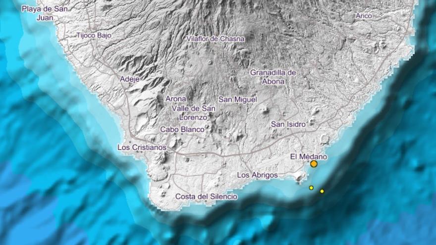 El terremoto se registró en la zona de El Médano. (IGN)