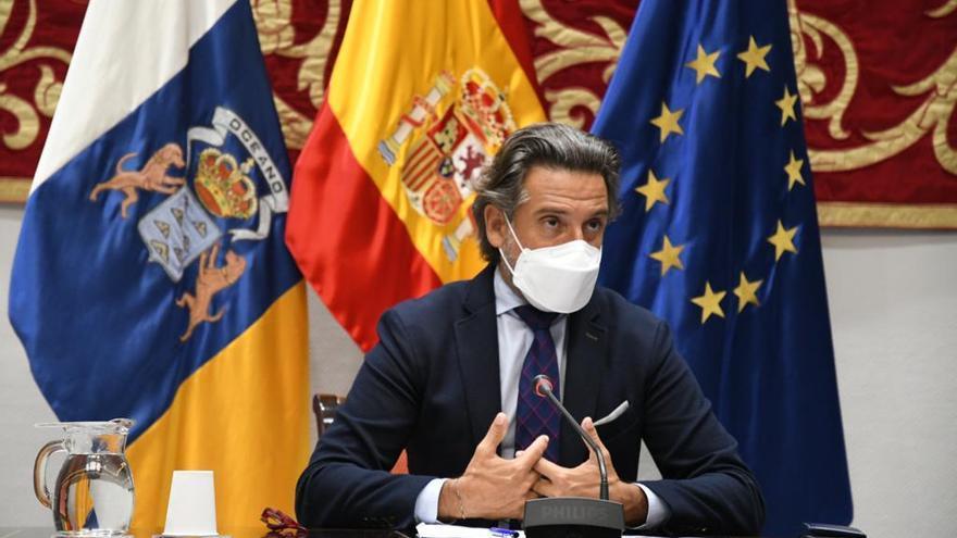 """Canarias demanda a la UE igualdad de servicios para combatir los """"desequilibrios demográficos"""" del Archipiélago"""