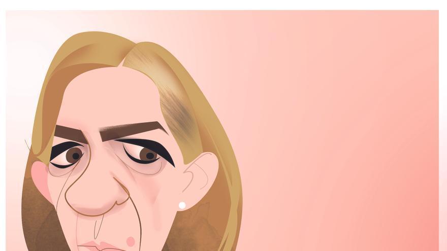 Ilustración de Cristina de Borbón.