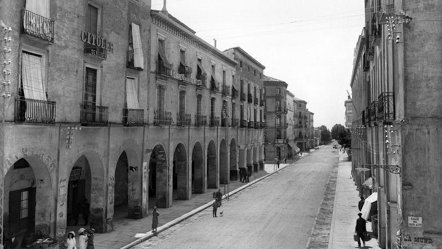 Los porches de Galicia, a principios del siglo XX.