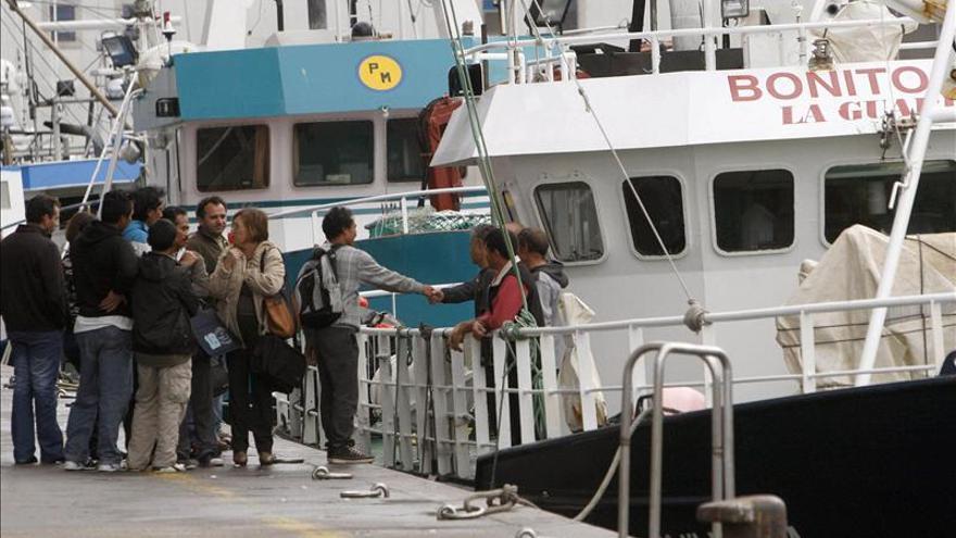 """El patrón del pesquero hundido """"Francés"""" declara que no dio tiempo a nada"""