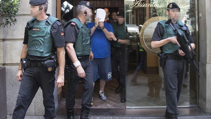 La mitad de los detenidos en Cataluña por la Camorra pasan mañana ante juez