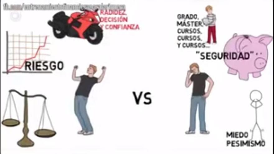 Captura de pantalla del vídeo 'Cómo convertir los problemas en oportunidades'